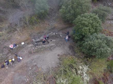 Escavacións en Valencia do Sil